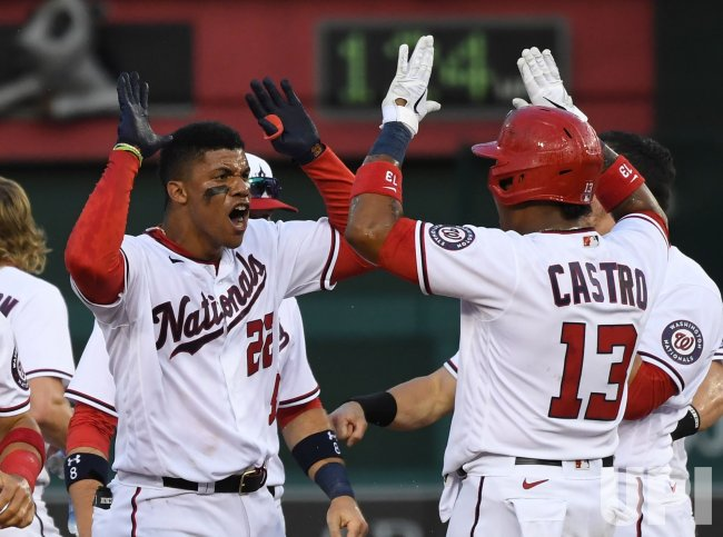 Nationals Defeat the Braves on their Postponed Opener