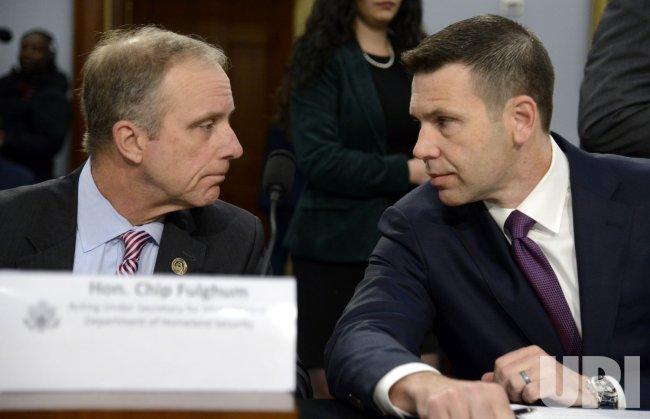 Acting DHS Sec McAleenan testifies on DHS budget in Washington