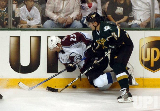 NHL PLAYOFFS-DALLAS STARS VS COLORADO AVALANCHE