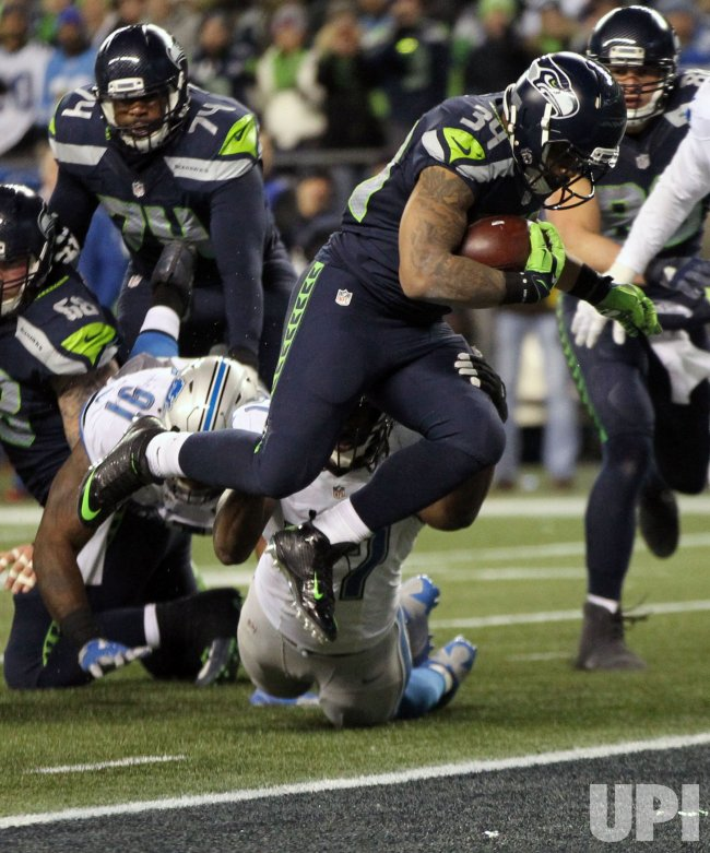 Seattle Seahawks beat the Detriot Lions 26-6 in a Wild Card round of the NFL playoffs in Seattle