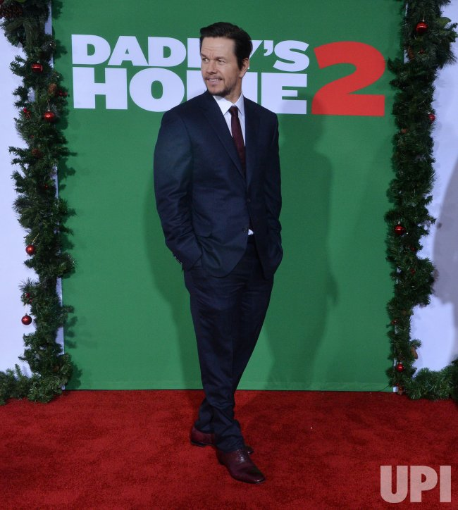"Mark Wahlberg attends the ""Daddy's Home 2"" premiere in Los Angeles"