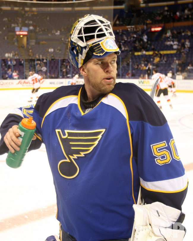 St. Louis Blues Chris Mason