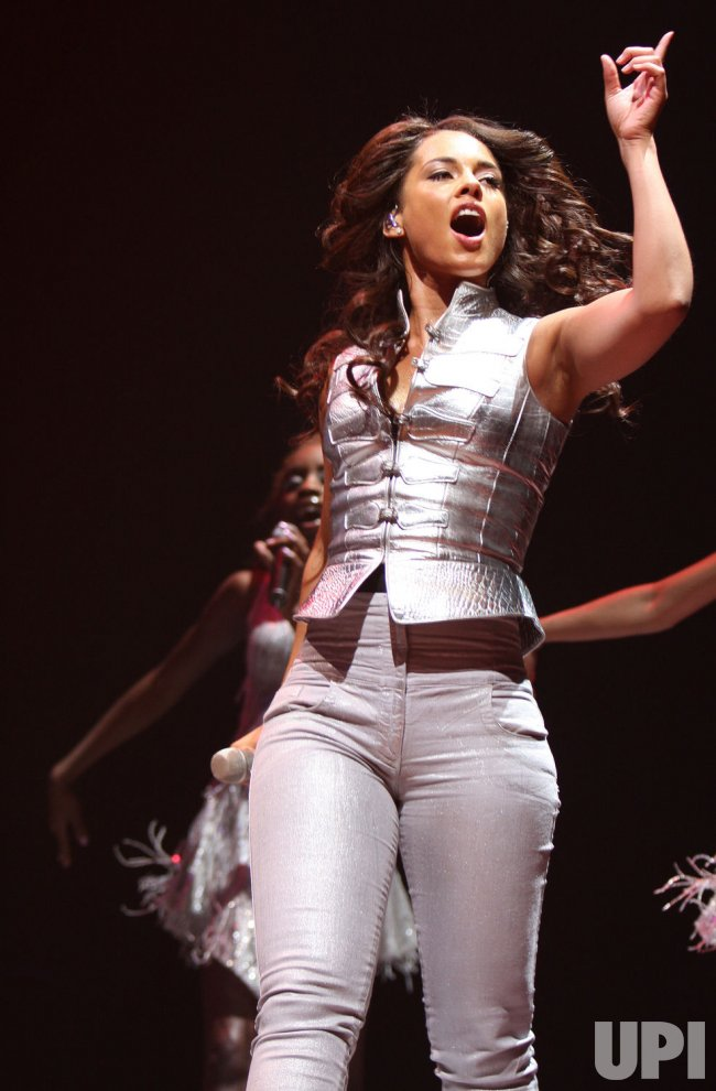 Alicia Keys concert in Las Vegas