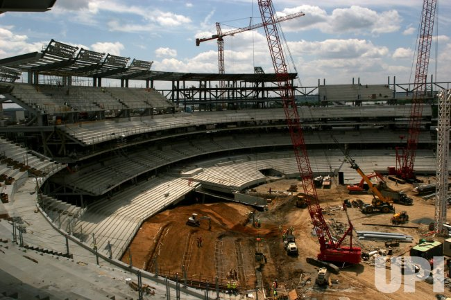 CONSTRUCTION OF NEW WASHINGTON NATIONALS STADIUM IN WASHINGTON