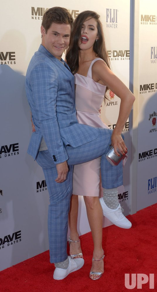 Mike And Dave Need Wedding Dates Full Movie Online.Adam Devine And Chloe Bridges Attend The Mike And Dave Need Wedding
