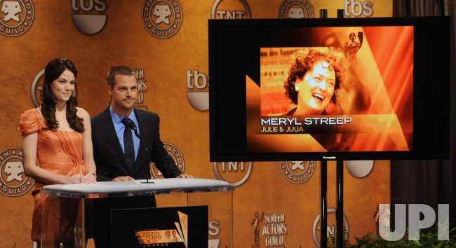 Michelle Monaghan and Chris O'Donnell announce nominations for the 16th SAG Awards in Los Angeles