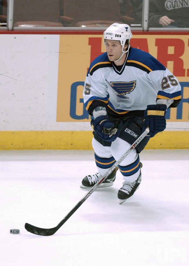 NHL: MIGHTY DUCKS VS BLUES