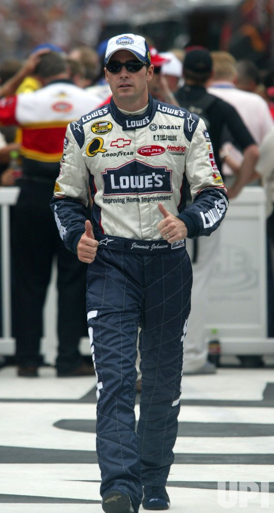 JIMMIE JOHNSON AT COCA-COLA 600 NASCAR RACE
