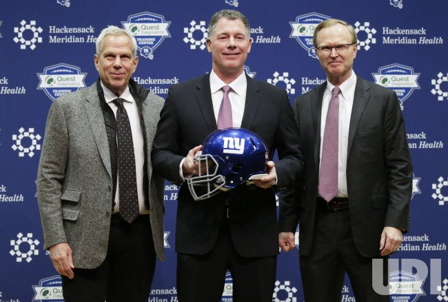 Pat Shurmur named New York Giants Head Coach