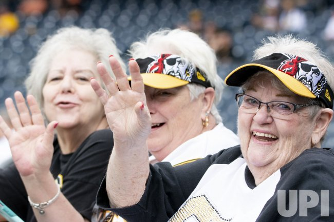 Pittsburgh Pirates Fans at PNC Park Without Mask