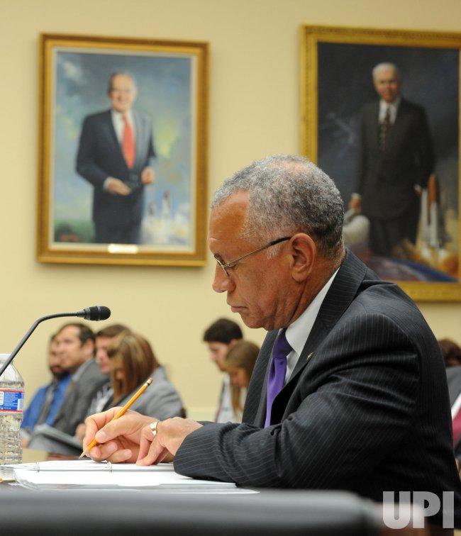 NASA Adm. Bolden testifies in Washington