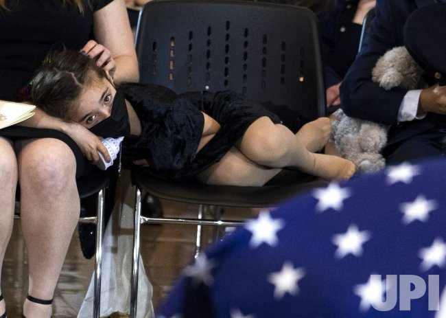 Daughter of Fallen Capitol Police Officer Evans in Washington