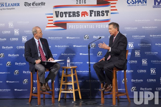 Voters First Forum in Manchester, New Hampshire