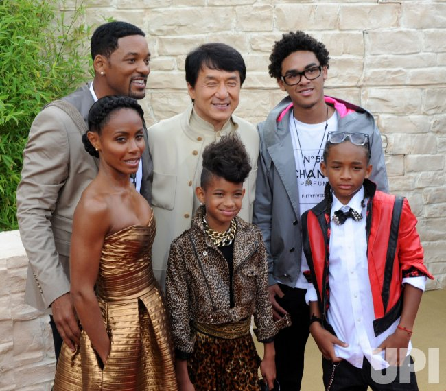 "Will Smith family and Jackie Chan attend ""The Karate Kid"" premiere in Los Angeles"