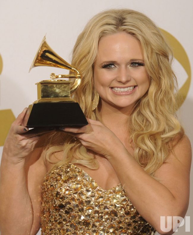 Miranda Lambert wins Best Female Country Vocal Performance Grammy in Los Angeles