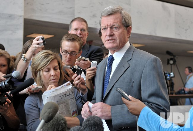 Sen. Max Baucus (D-MT) speaks on health care reform
