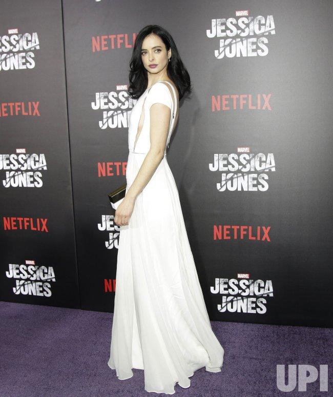Krysten Ritter at the premiere of Marvel's Jessica Jones
