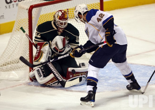 St. Louis Blues David Backes