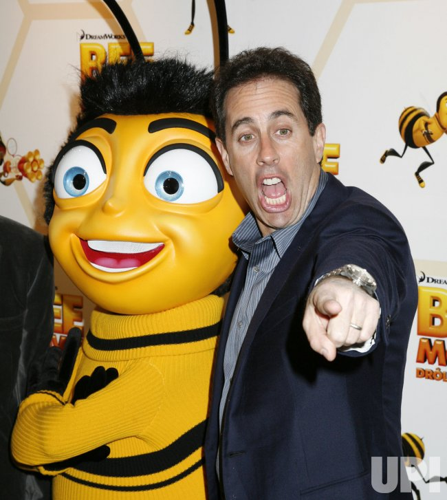 Bee Movie premieres in Paris