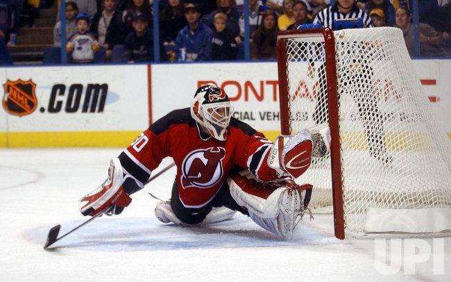 New Jersey Devils vs St. Louis Blues hockey