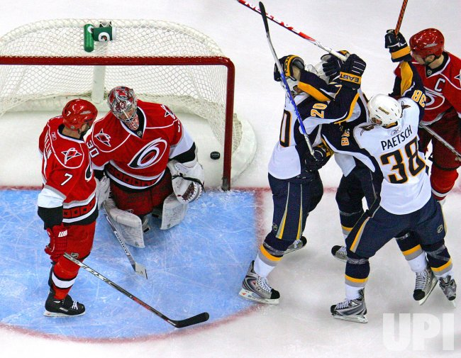 aa51ed3a3 NHL Hockey Buffalo Sabres vs Carolina Hurricanes in Raleigh