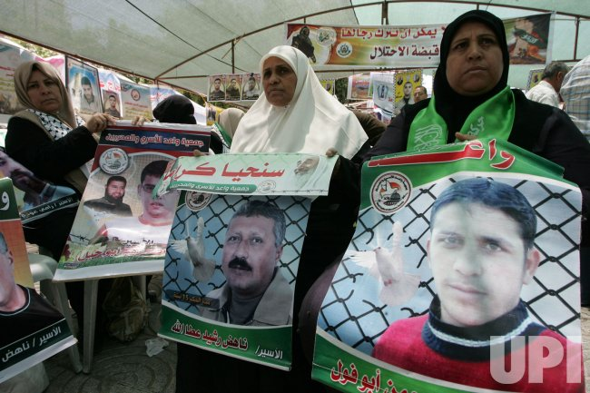 Protests in Gaza in Support of Palestinian Prisoners in Israel