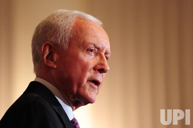 Sen. Orrin Hatch speaks on increasing the debt ceiling and balancing in Washington
