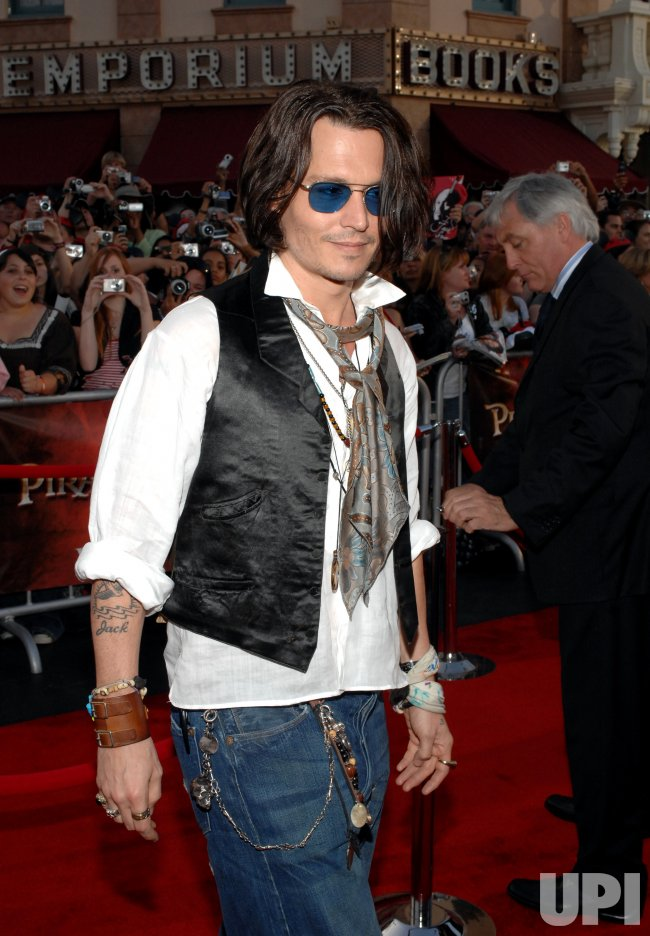 """PIRATES OF THE CARIBBEAN: AT WORLD'S END"" PREMIERE IN ANAHEIM, CALIFORNIA"