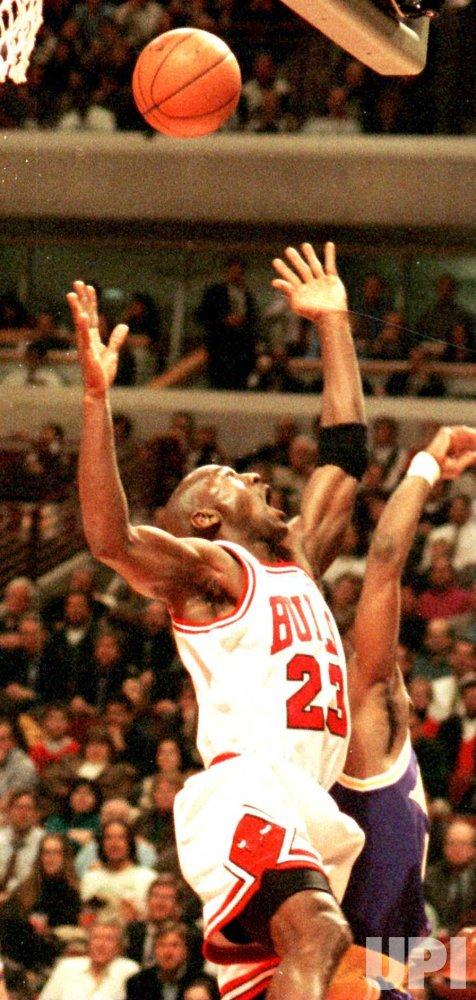 Bulls' Michael Jordan