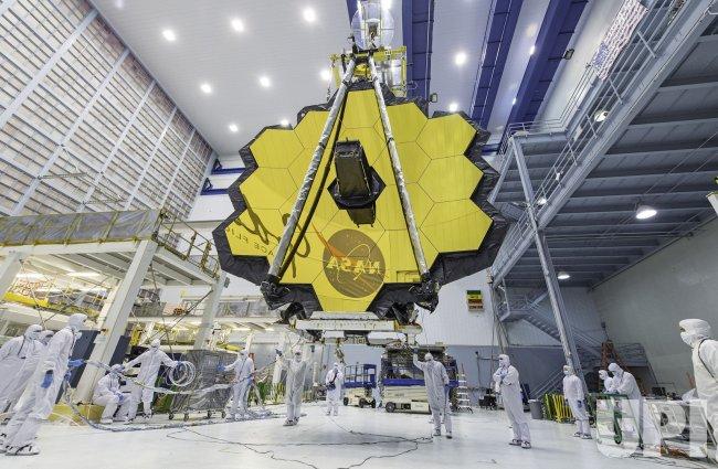 James Webb Space Telescope Mirror Seen in Full Bloom Desiree Stover/NASA