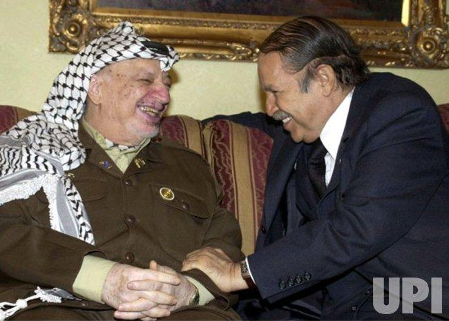 Yasser Arafat in Jordan