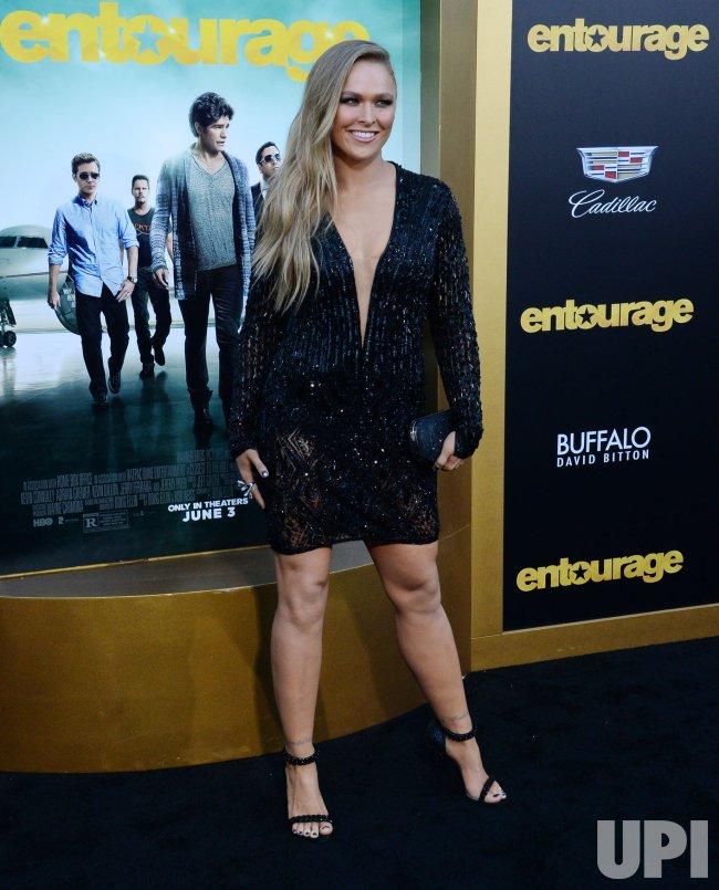 """""""Entourage"""" premiere held in Los Angeles"""