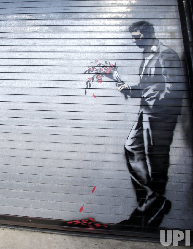 Banksy art in New York City