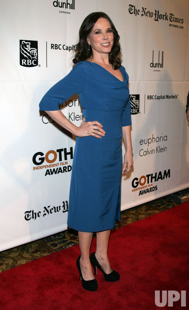 Barbara Hershey arrives for the 20th Anniversary of the Gotham Independent Film Awards in New York