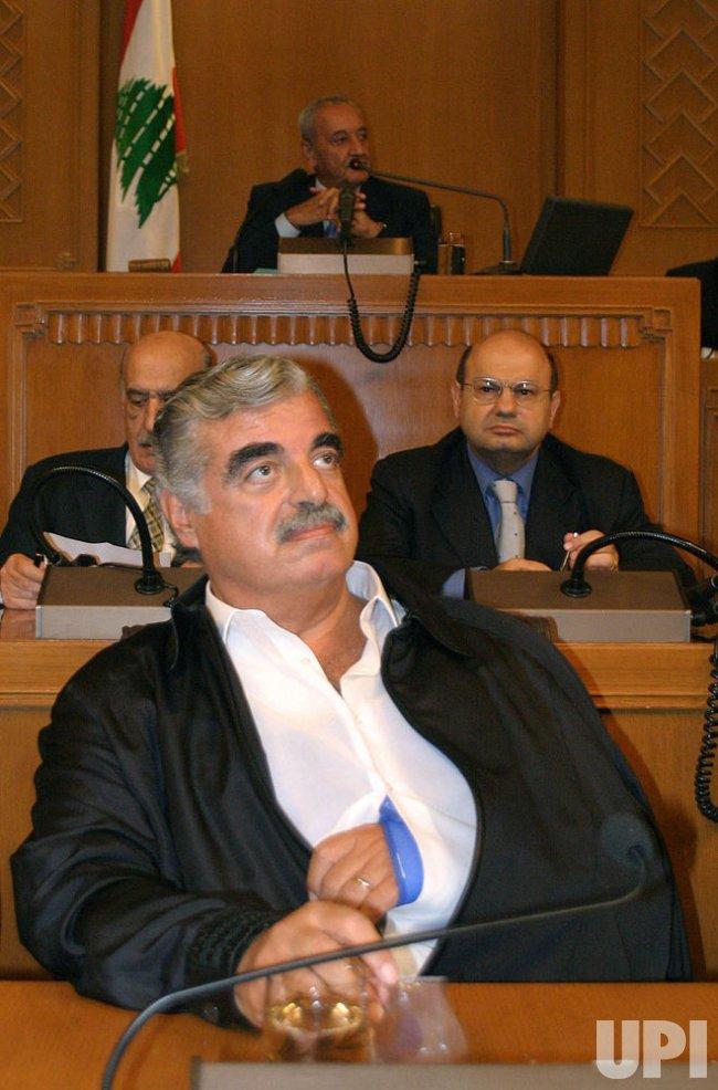 PRESIDENT LAHOUD TERM EXTENDED IN LEBANON