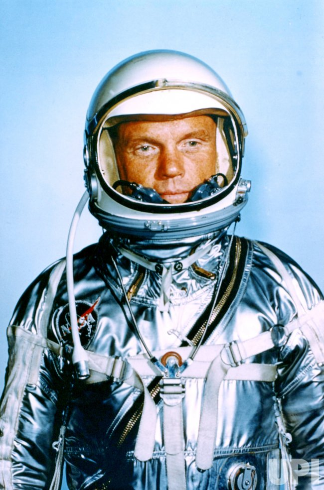 FEBRUARY 1962 PORTRAIT OF JOHN GLENN