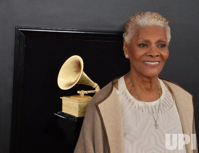 61st Annual Grammy Awards: Dionne Warwick Arrives For The 61st Grammy Awards In Los