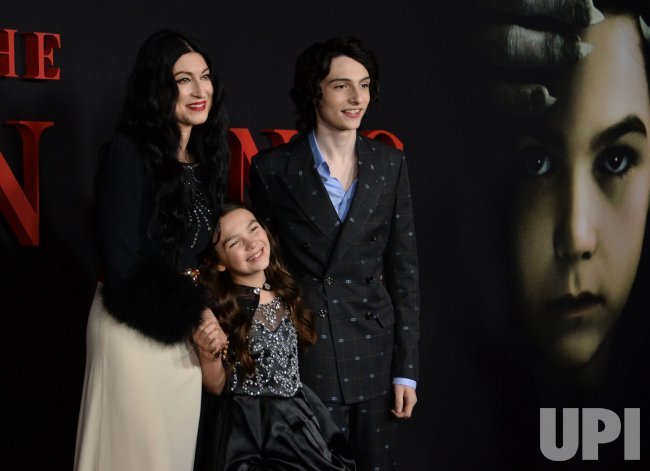 """Floria Sigismondi, Brooklynn Prince and Finn Wolfhard attend """"The Turning """" premiere in Los Angeles."""