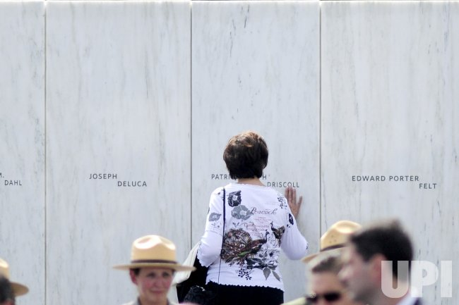 Dedication of Flight 93 National Memorial in Shanksville, Pennsylvania