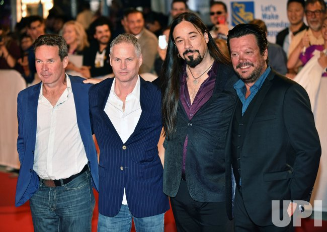 Tragically Hip band members attend 'Long Time Running' premiere at Toronto International Film Festival