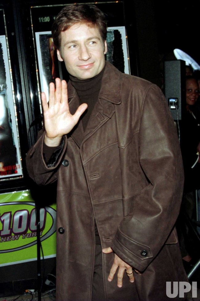 Duchovny attends New York film opening of his film