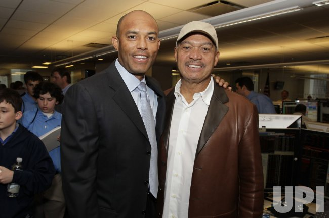New York Yankees Mariano Rivera at the 2012 BTIG Commissions for Charity Day in New York