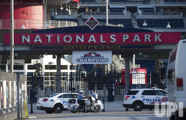 Nationals Game postponed due to Naval Yard Shooting in Washington, D.C.