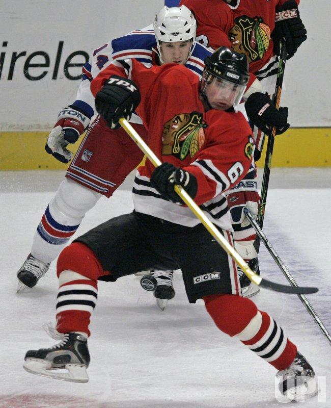 NHL NEW YORK RANGERS VS CHICAGO BLACKHAWKS