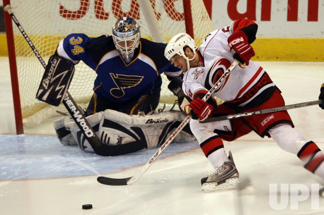 Carolina Huricane vs St. Louis Blues