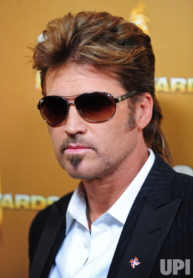 Billy Ray Cyrus arrives for the Country Music Awards in Nashville