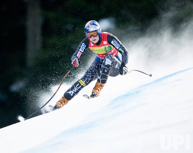 The Telus Women's Super Combined - Super G of FIS World Cup Skiing at Whistler