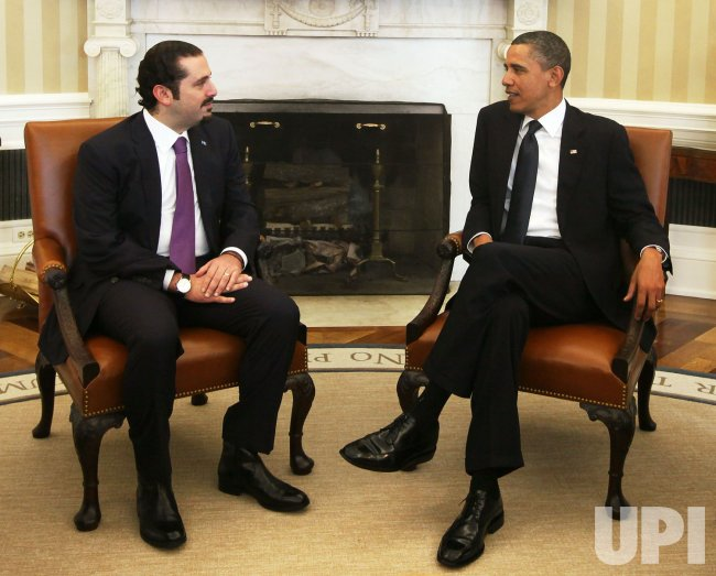 President Obama Meets With Prime Minister Hariri of Lebanon