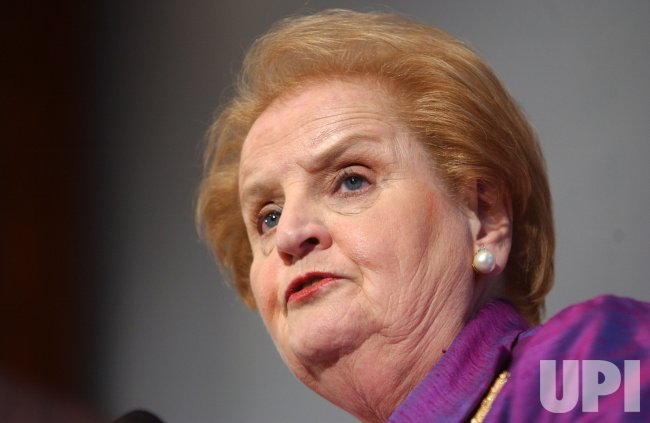 MADELEINE ALBRIGHT SPEAKS TO MEI CONFERENCE
