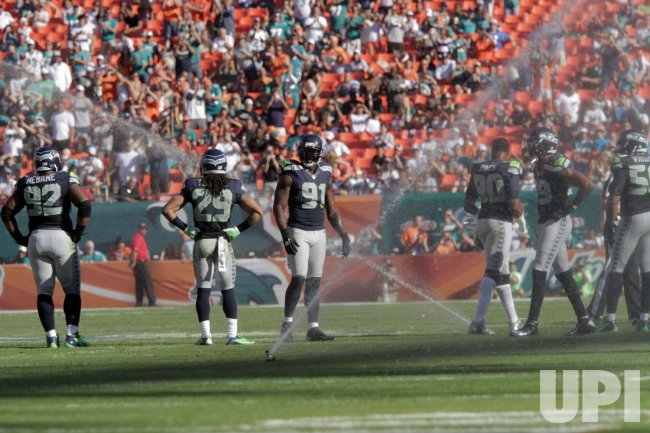 Miami Dolphins vs.Seattle Seahawks in Miami
